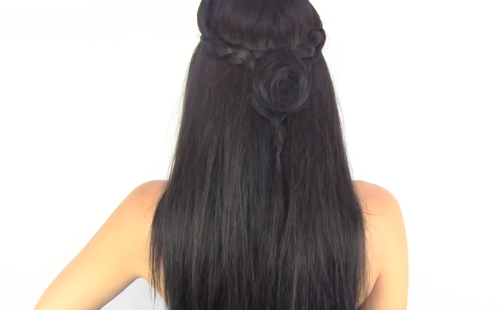 Peinados para todo el año fáciles bonitos y rapidos  - Como Se Hace Peinados Faciles