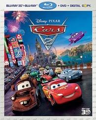 Rip Cars 2 3D Blu-ray to iPod
