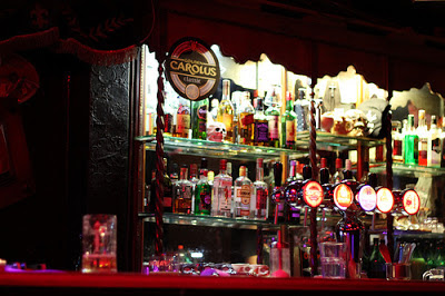 A spooky bar in brussels
