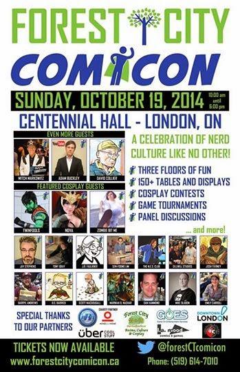 Forest City Comicon 2014