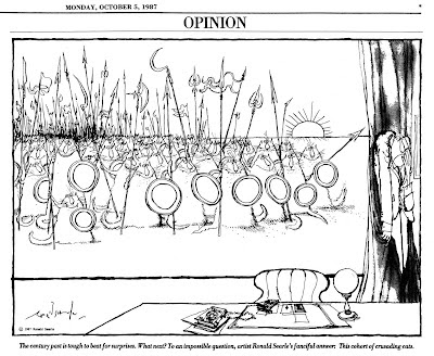 International Herald Tribune - Ronald Searle