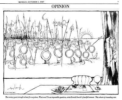 International Herald Tribune - Ronald Searle