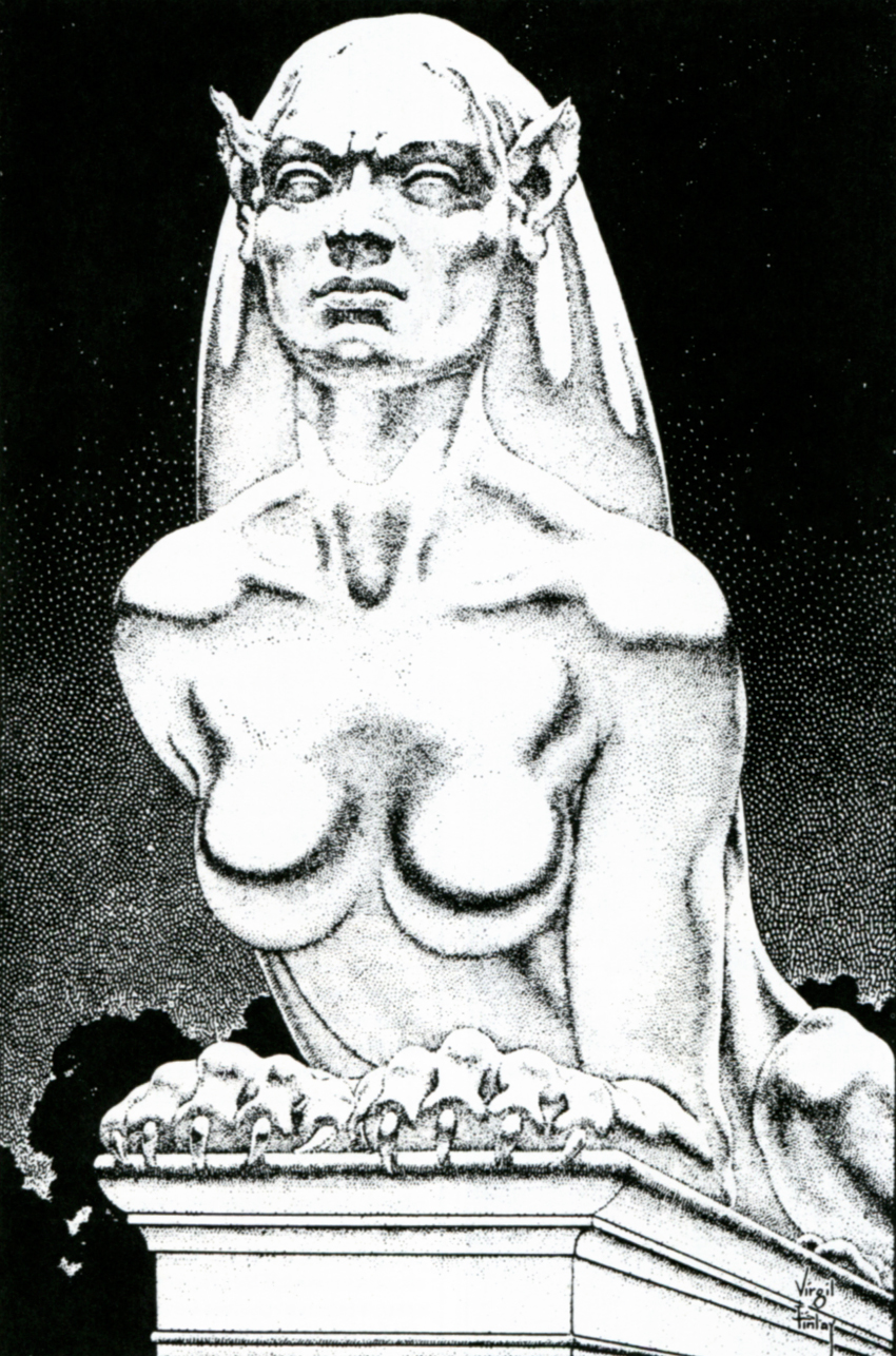 Billedresultat for Virgil Finlay time machine