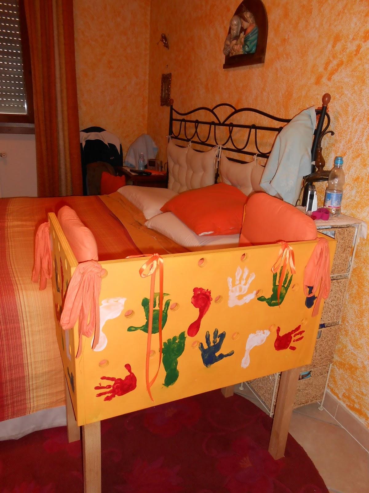 Bambinabirbona side bed culla da affiancare al lettone fai da te - Culla che si attacca al letto ikea ...
