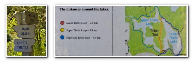 Victoria BC Tourist - Thetis Lake Map
