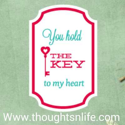 You hold the key to my heart.