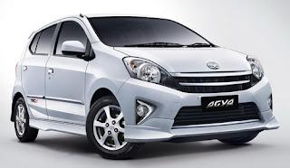 Mobil Toyota Agya TRD S