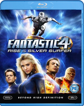 Fantastic 4 Rise of the Silver Surfer 2007 Dual Audio BluRay