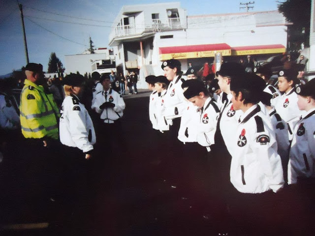 St. John Ambulance cadets remembrance day
