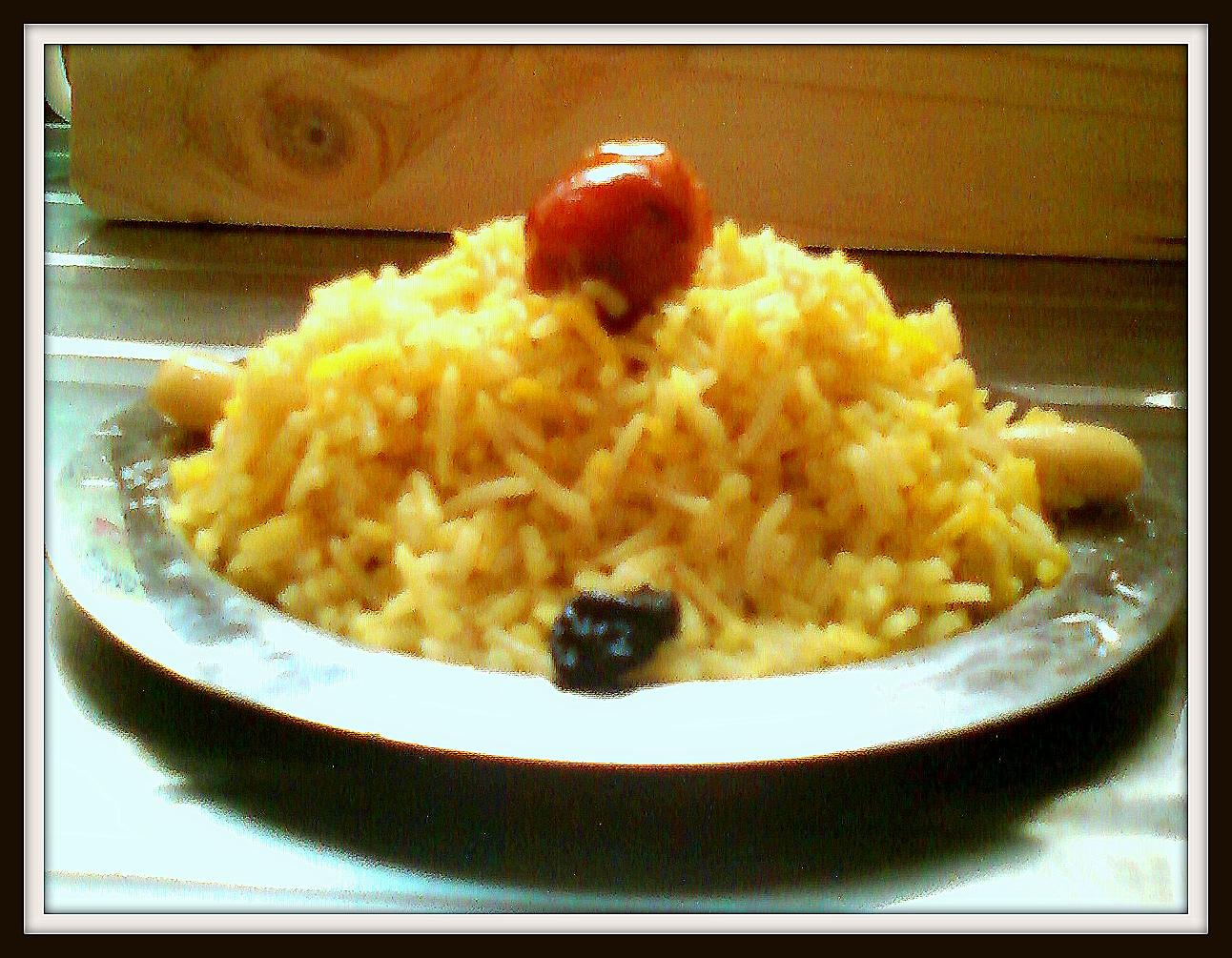 Nisha's Kitchen: Bahraini Muhammar (Sweet Rice)
