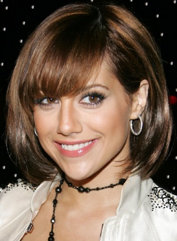 Innovative Short Hairstyle With Long Bangs