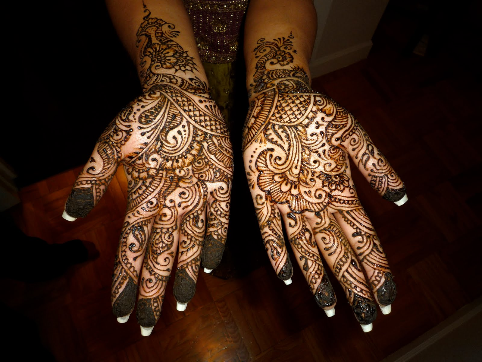 Rajasthani Mehndi Designs  All About