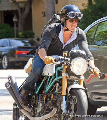 Ryan Reynolds Ducati on Ryan Reynolds Motorcycle Collection   Grease N Gasoline