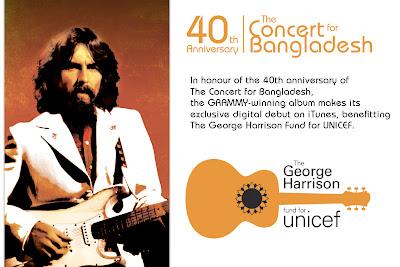 A 40 años del concierto para Bangladesh de George Harrison