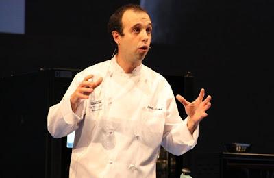 El Chef Adorta Lamo de A fuego negro en Donosti