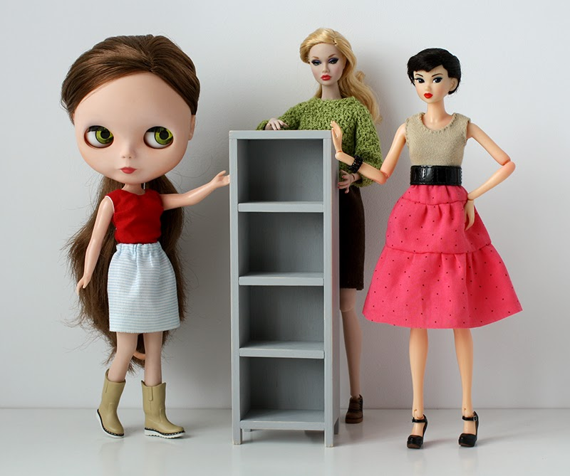 furniture for dolls - blythe, poppy, momoko - by minimagine