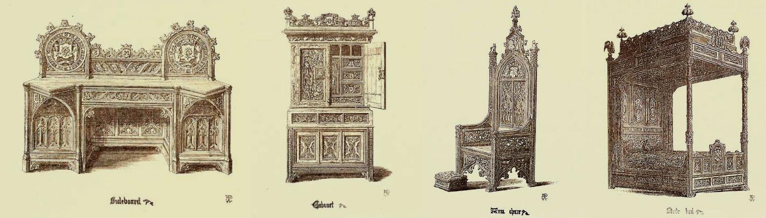 Edad media for Muebles iglesia