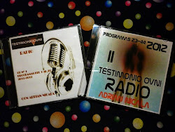 CD I y II TESTIMONIO OVNI RADIO $ 40 C/U