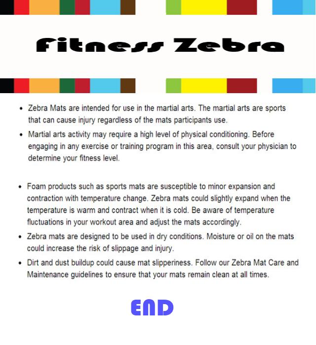 Fitness Zebra