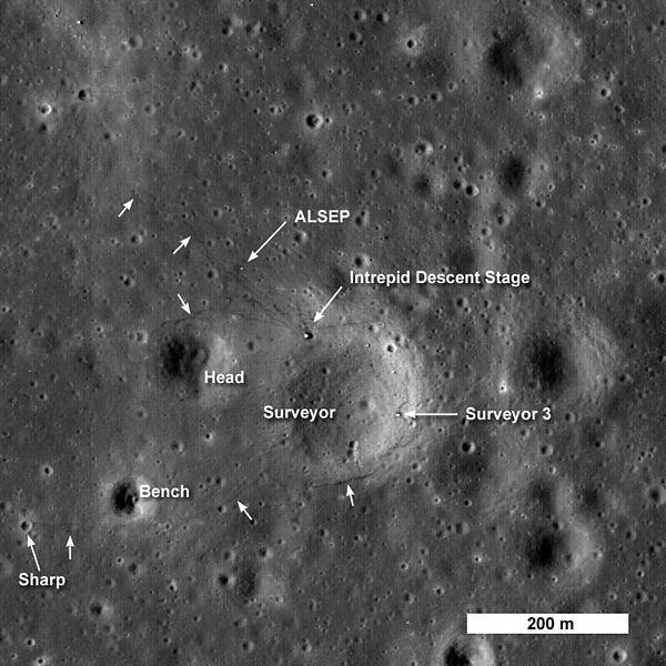 apollo tracks on moon - photo #4