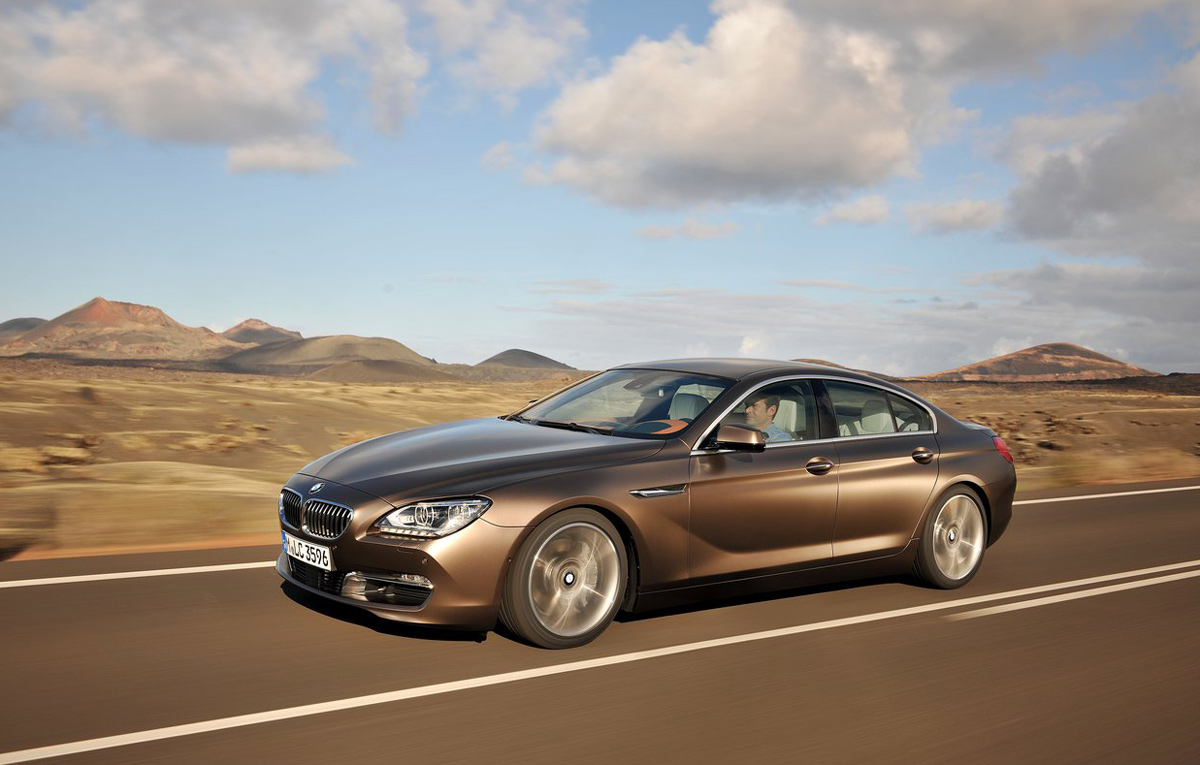 bmw 6 series gran coupe 2013 car report daily. Black Bedroom Furniture Sets. Home Design Ideas
