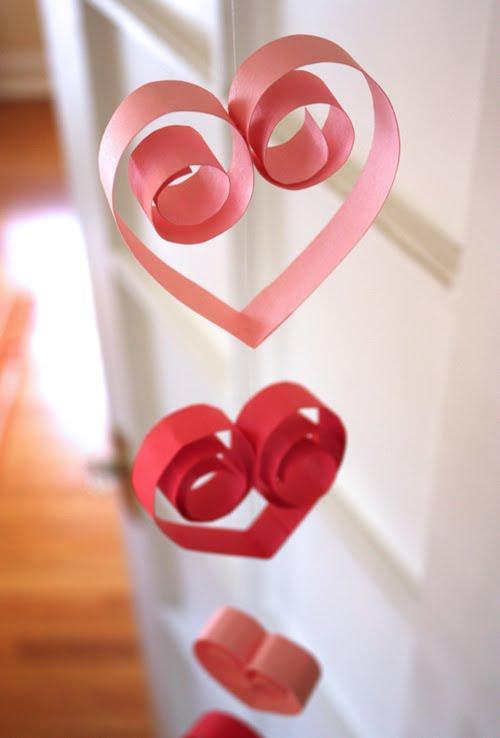 Romantic Handmade Valentine 39 S Day Decorations Interior