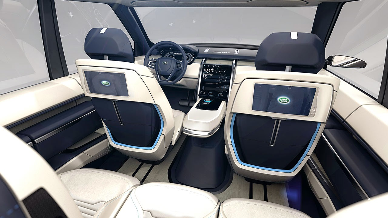 Land Rover Discovery Vision Concept details