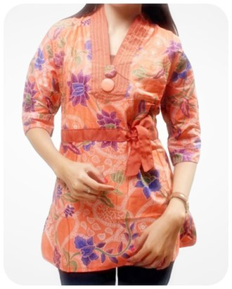 model baju batik muslim ciamik model baju batik kerja kantor model