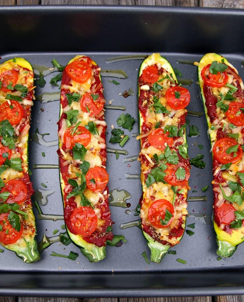 Oppskrift Sunn Pizza Squashpizza Vegan Ost Tapas