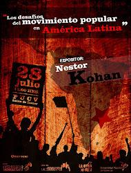 Néstor Kohan, destacado teórico marxista argentino, estará en Valparaíso