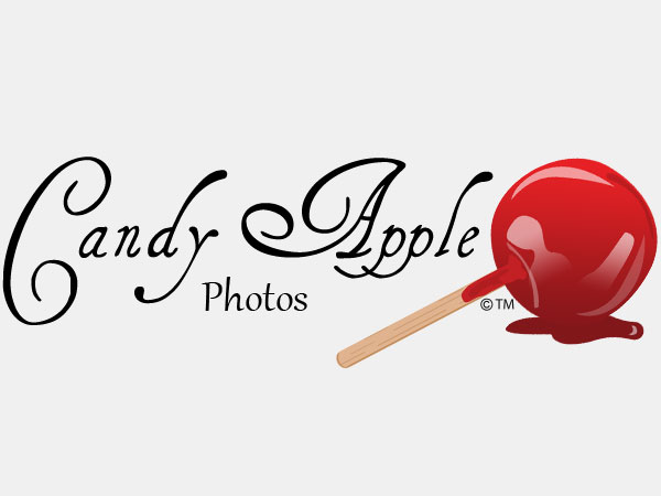 Candy Apple Photos Logo Design Branding Illustration Alice Graphix AliceGraphix