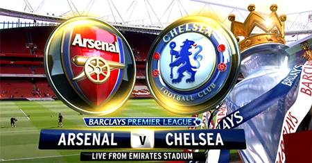 Siaran Streaming Langsung Arsenal vs Chelsea Minggu, 2 Agustus 2015 Live di SCTV