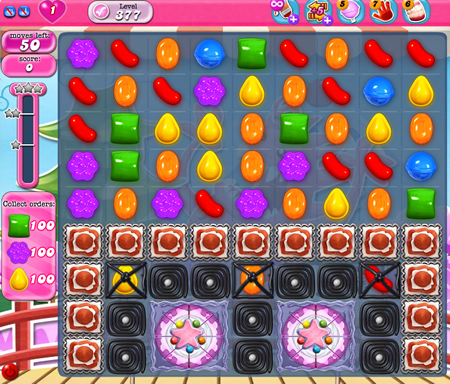 Candy Crush Saga 377
