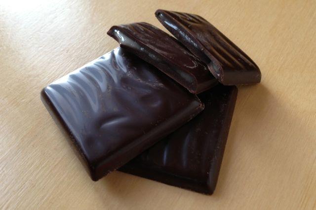Vegan Orange Chocolate Thins