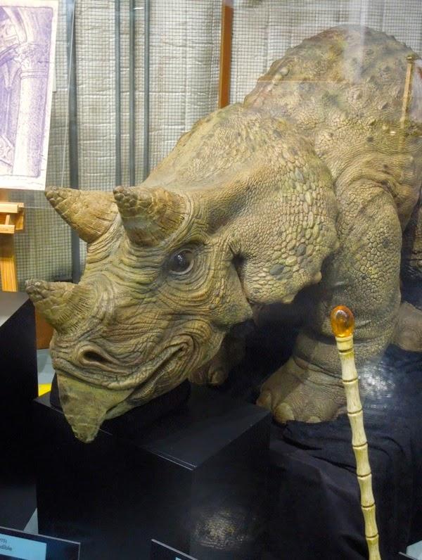 Jurassic Park 3 animatronic triceratops