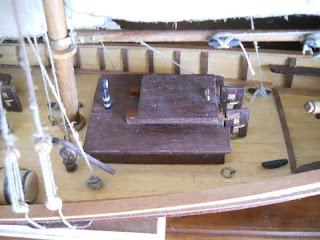 maqueta estatica del barco de pilotaje swift de artesania latina