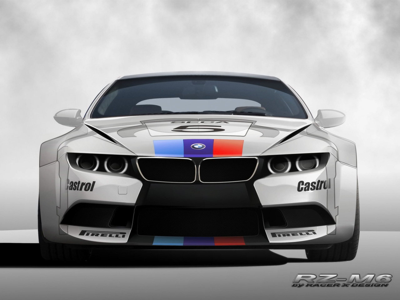 BMW RZ M6 By Racer X Design Wallpapers 5