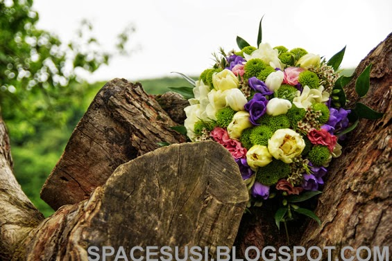 přípravy na svatbu, svatební kytka