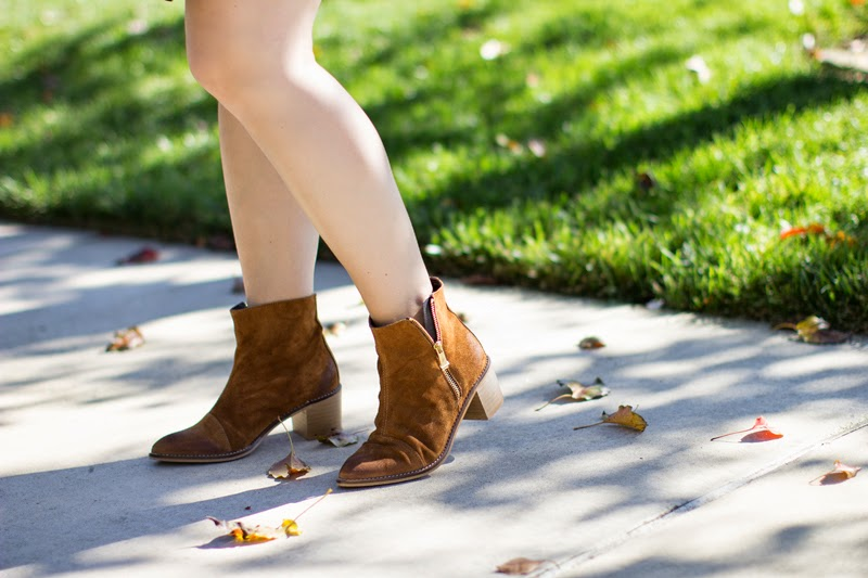 report signature brown suede boots, piperlime, best fall boots