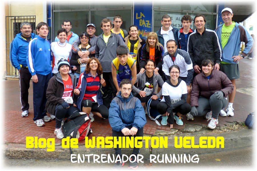 Blog de WASHINGTON VELEDA - Entrenador Running