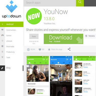 younow en uptodown com - android