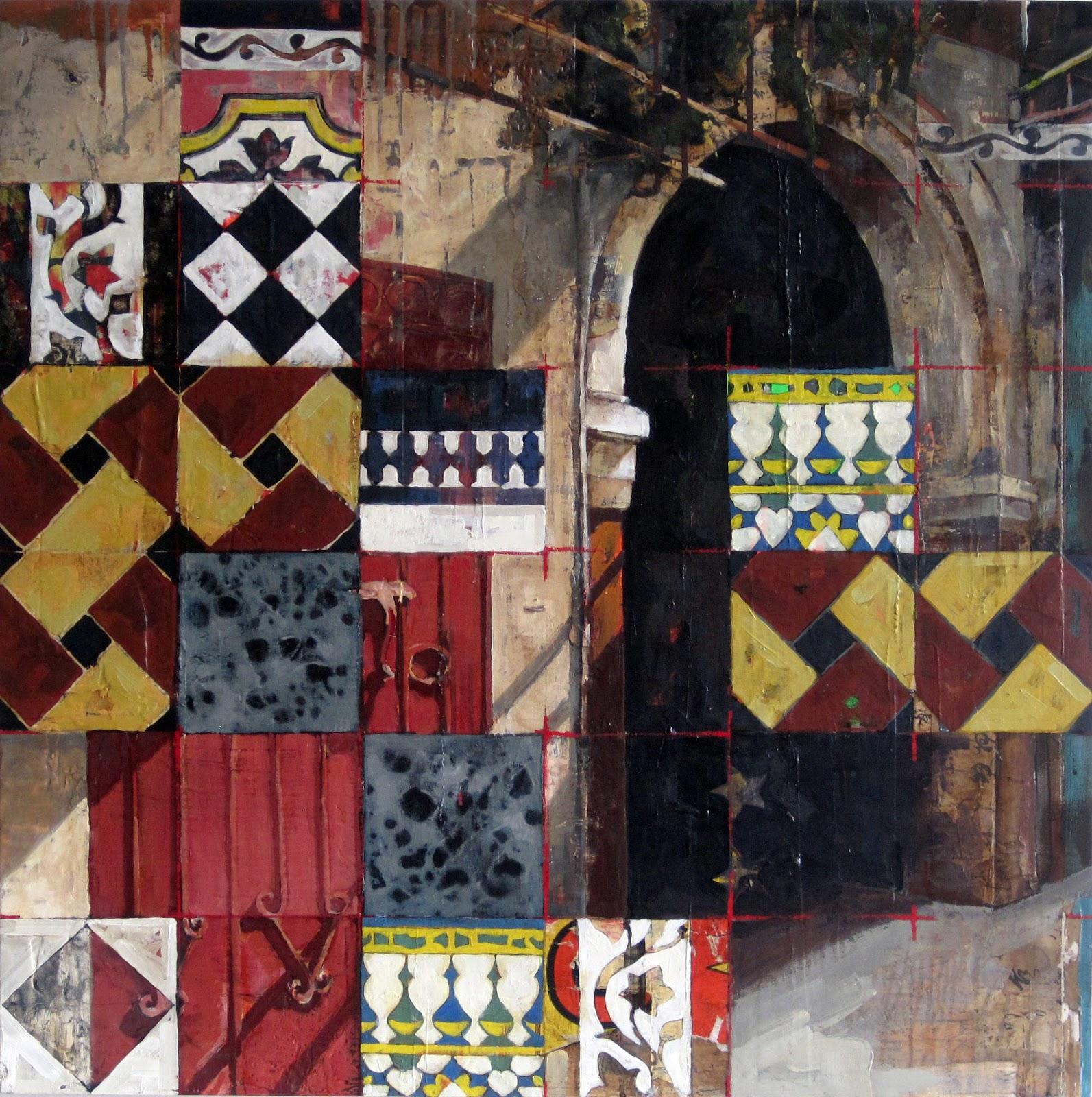 Corner Bakery Tiles : Catherine mackey art news marrakech bakery