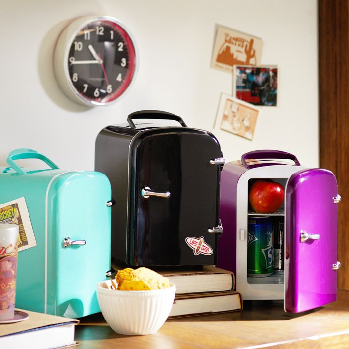 Decorating Ideas > CGs Back To School Decor Essentials  College Gloss ~ 080753_Dorm Room Fridge Ideas