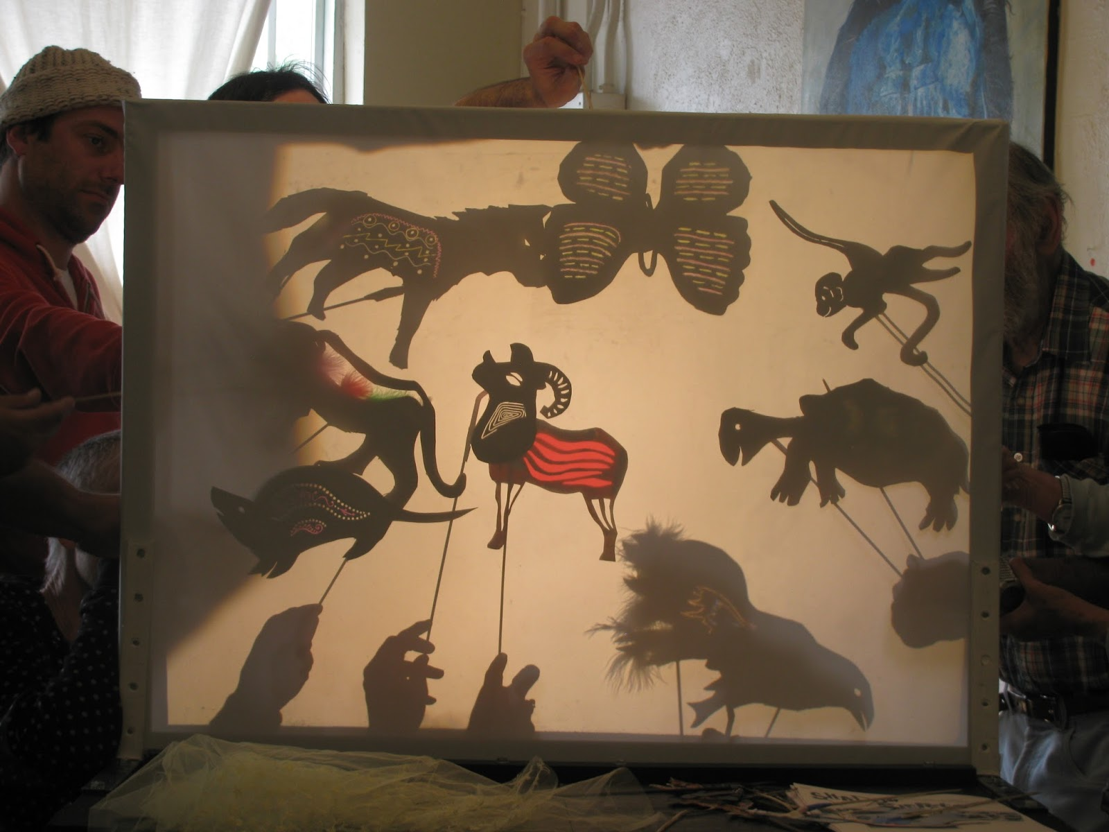 midden: Shadow Puppet Workshops- Songs of the Abyss Tour 2013
