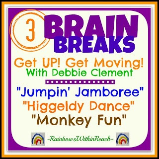"3 Brain Breaks: Featuring ""Jumpin' Jamboree"" by Debbie Clement"
