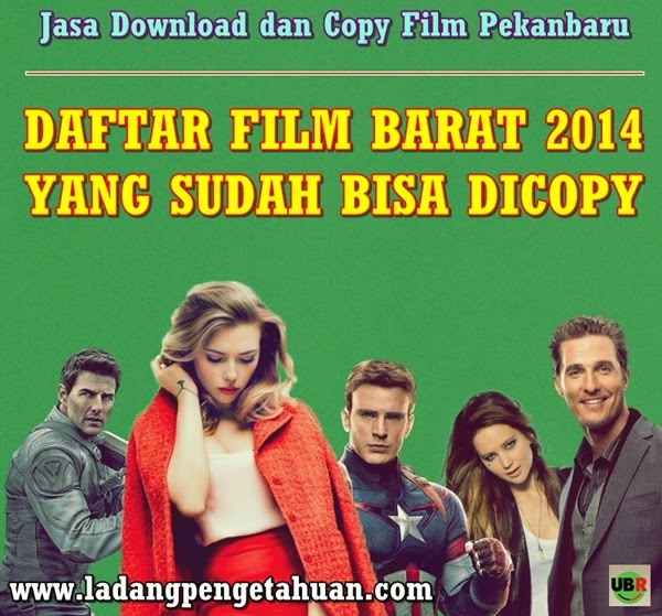 Jasa Download dan Copy Film Pekanbaru