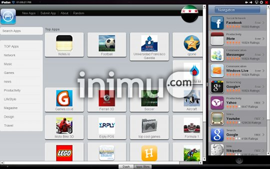 iPadian, iPad emulator for PC - Apps Store