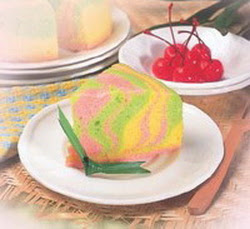 Pin Bolu Kukus Pelangi « Bundatwinskitchen Cake on Pinterest