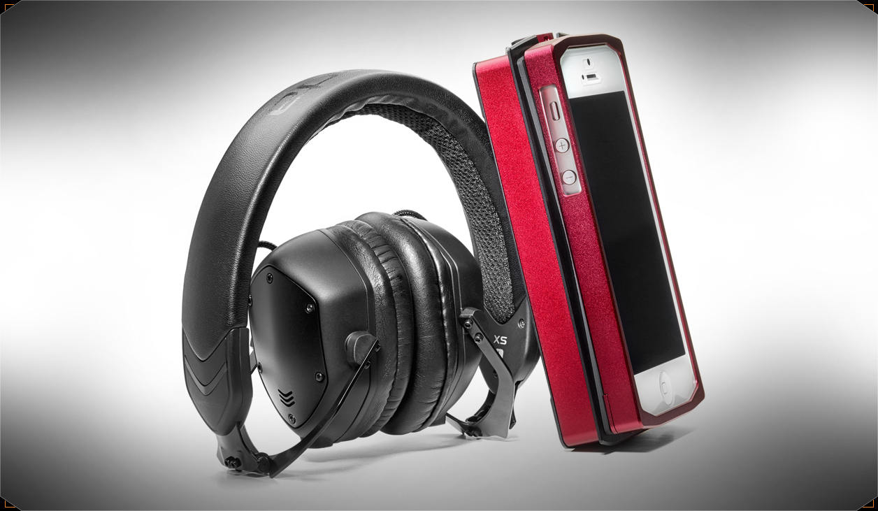 tai nghe V-Moda XS, with iPhone
