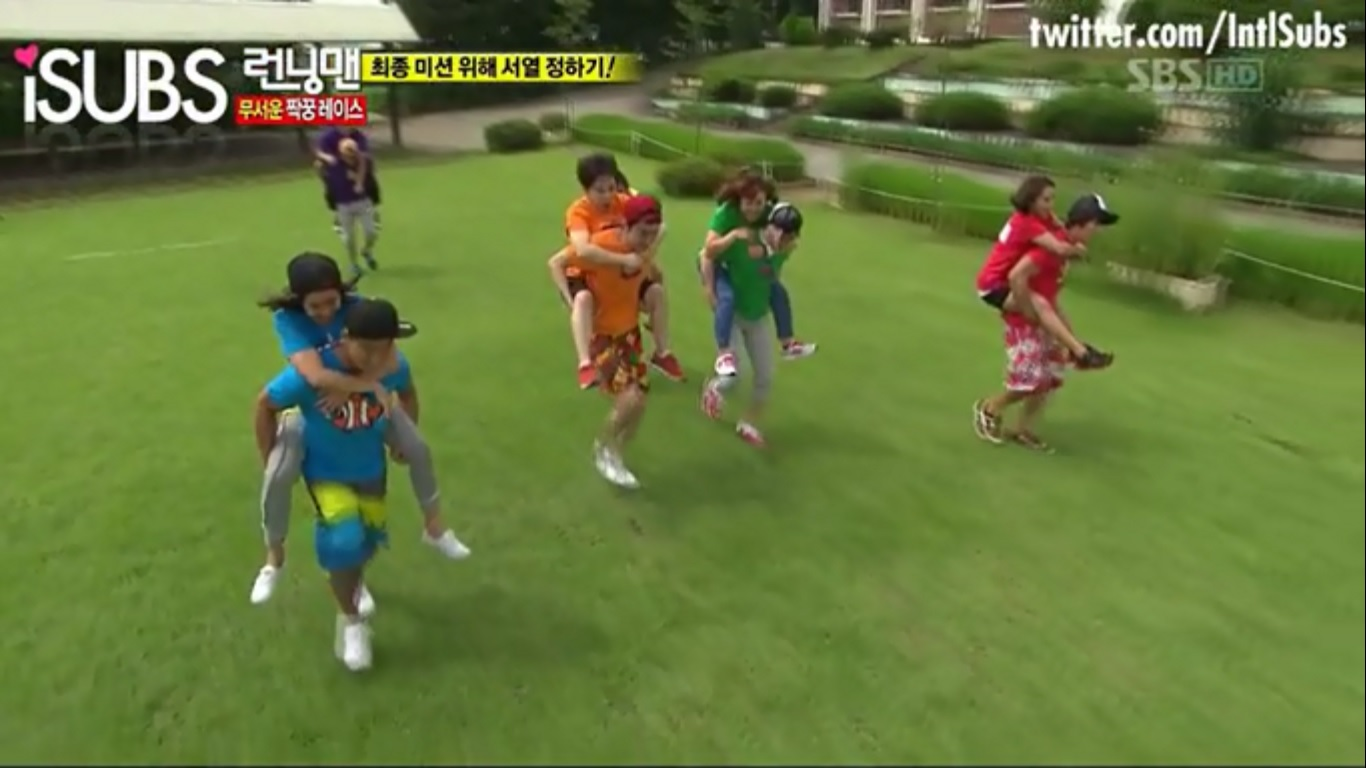 10 running man challenges you can try in your own backyard
